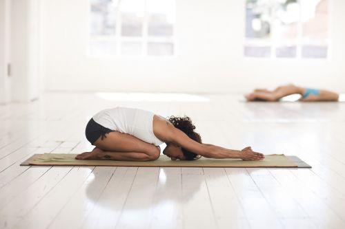 yoga childs pose asana
