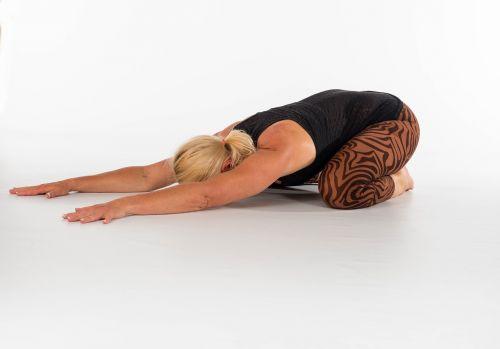 yoga fitness woman