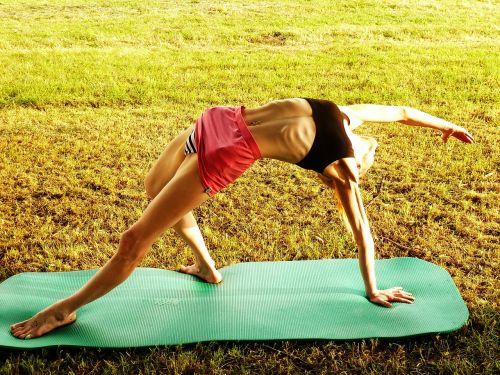 yoga woman gymnastics