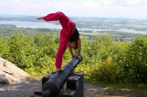 yoga champlain girl