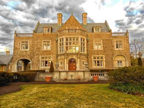 york,pennsylvania,landscape,house,mansion,home,landmark,sky,clouds,architecture,nature,outside,country,countryside,hdr