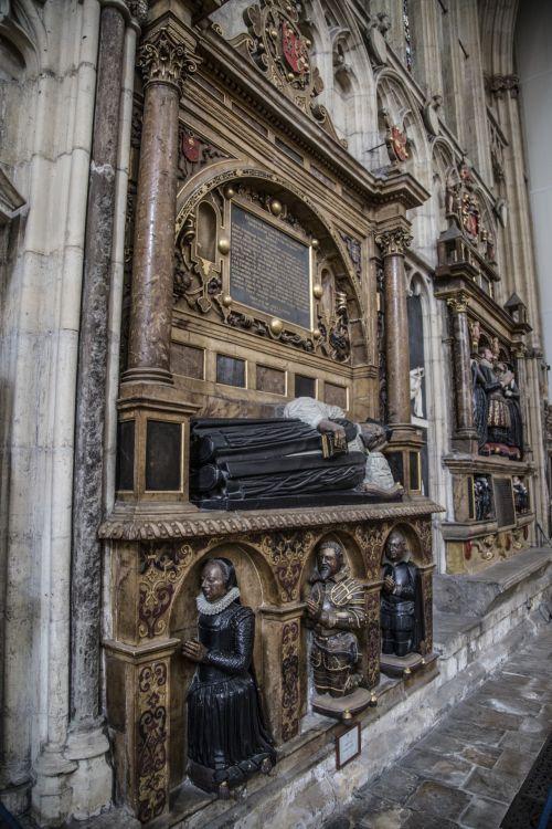 York Minster. Gothic Nave, Interior