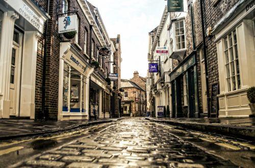 York, United Kingdom , Empty Street