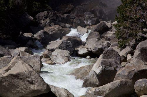yosemite river nature