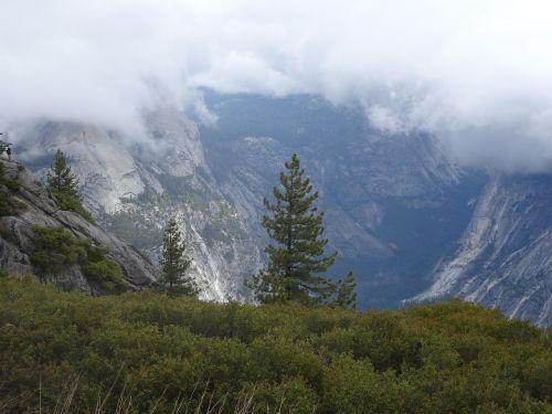 yosemite fog yosemite national park