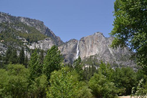 yosemite waterfall national park
