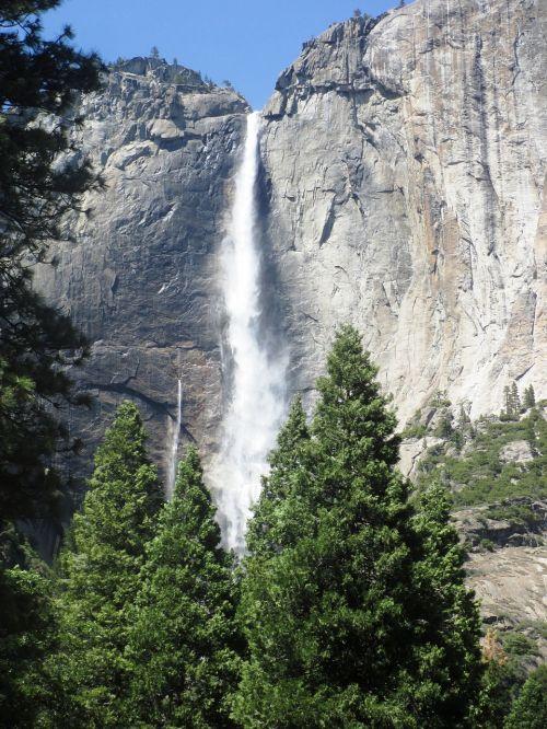 yosemite falls water fall yosemite national park