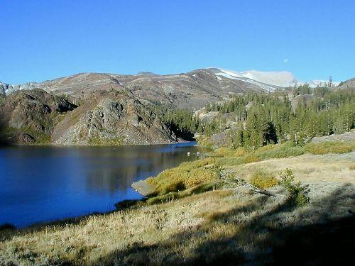 yosemite national park bergsee mountains
