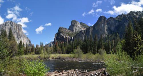Yosemite Panoramic Background