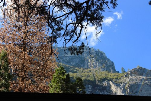 yosemite valley  mountains  landscape