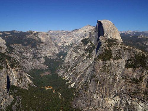 Josemito slėnis,puse kupolas,usa,Kalifornija,lipti,žygiai,Nacionalinis parkas,gamta,kalnai,kietas,Rokas,didžioji siena,slėnis,Gorge
