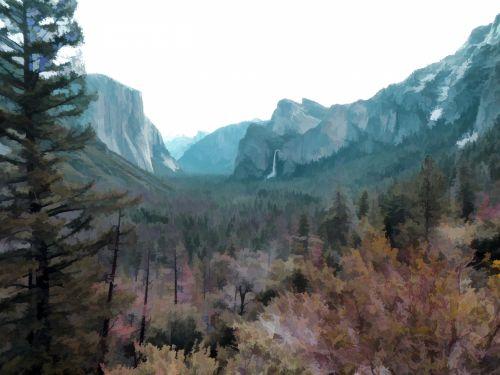 Yosemite Vista View
