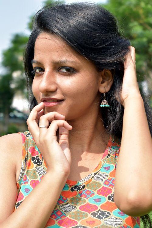 young slim pretty