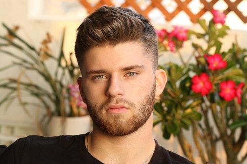 young man  portrait  beard