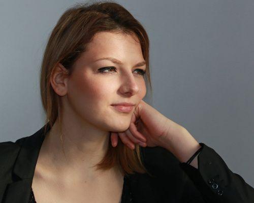 young woman portrait beautiful