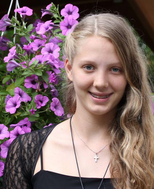 young woman pretty woman