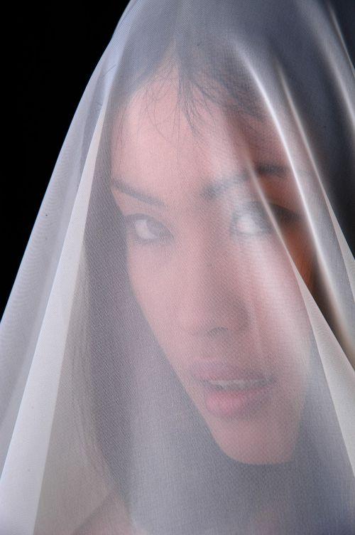 young woman portrait face