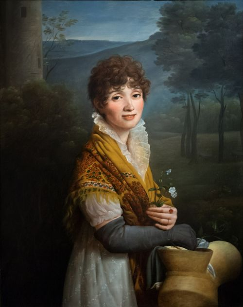 young woman,woman,painting,oxford,ashmolean museum,oxfordshire,fine art,portrait,attractive