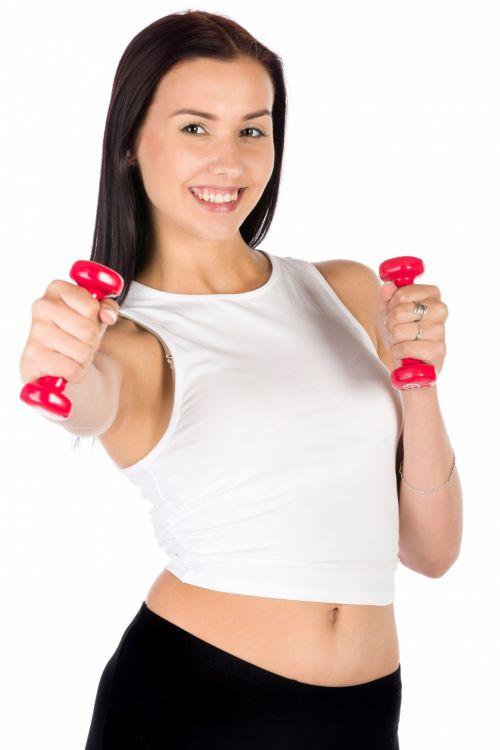 Young Woman Exercising