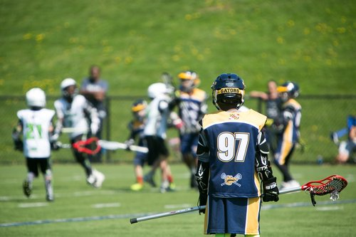 youth  lacrosse  play