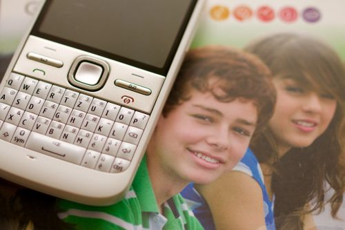 mobile phone youth mobile