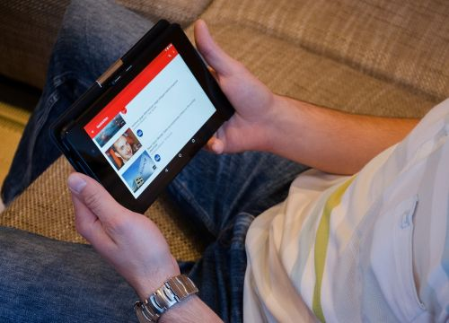 youtube tablet news