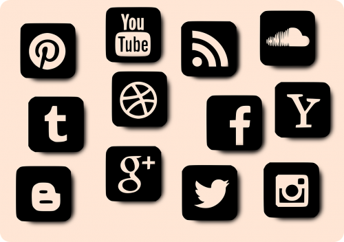 youtube facebook social media