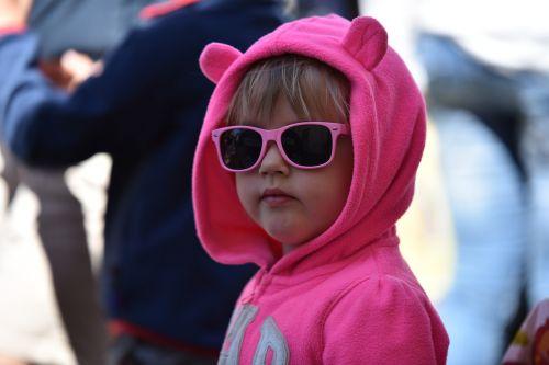 children play sunglasses