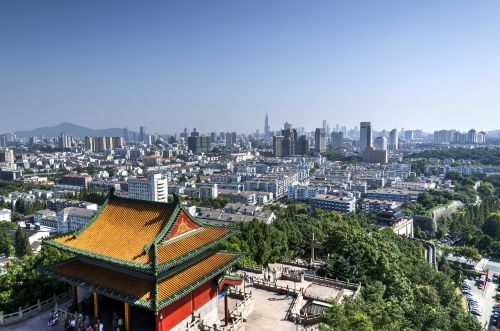 yuejianglou nanjing buildings