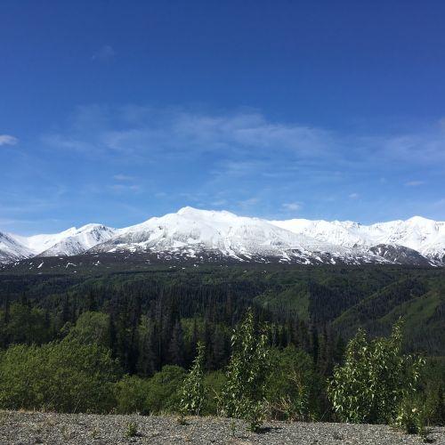 yukon mountains nature
