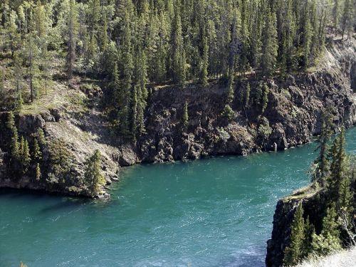 yukon river yukon territory canada