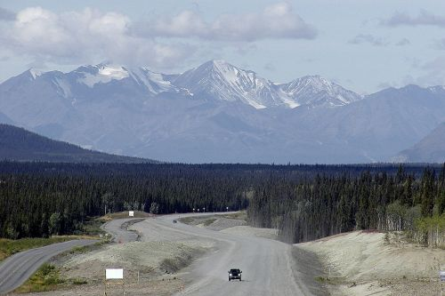 yukon territory canada kluane provincial park