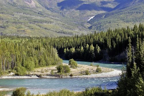 yukon territory canada landscape