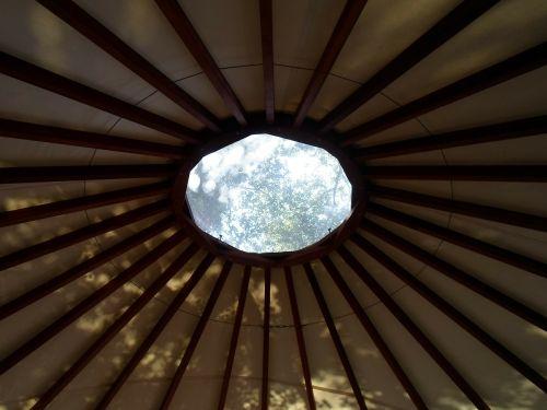 yurt circle window