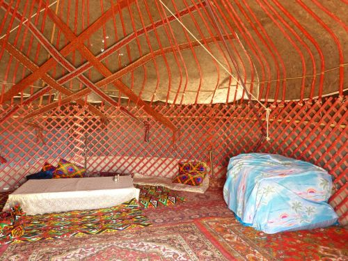 yurt tent residential structure