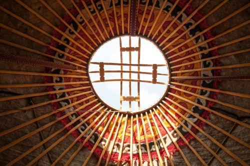 yurt home nature