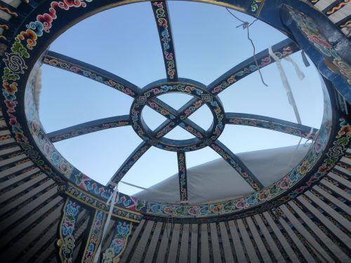 yurt art mongolia