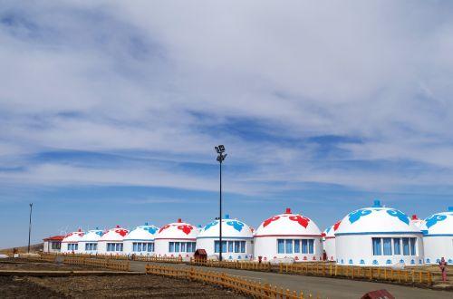 yurts inner mongolia mongolia
