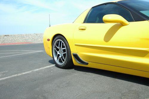 z06 corvette polished wheels