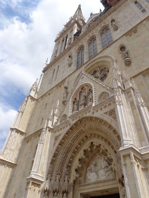 zagreb croatia the cathedral