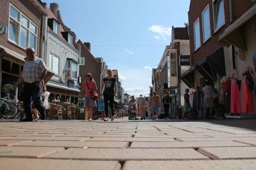 zandvoort pedestrian zone pedestrian
