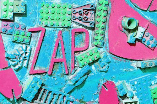 ZAP Lego Graffiti #7