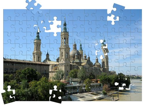 zaragoza spain puzzle