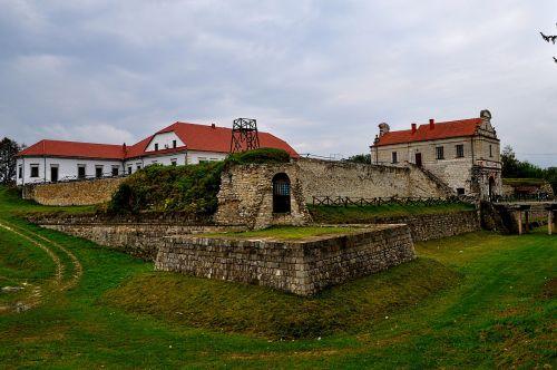 zbarazh fortress ukraine