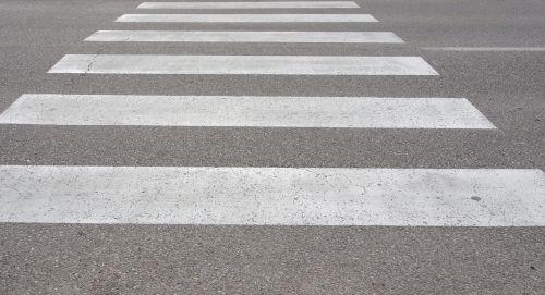 zebra crossing in-street ped crossing pedestrian crossing