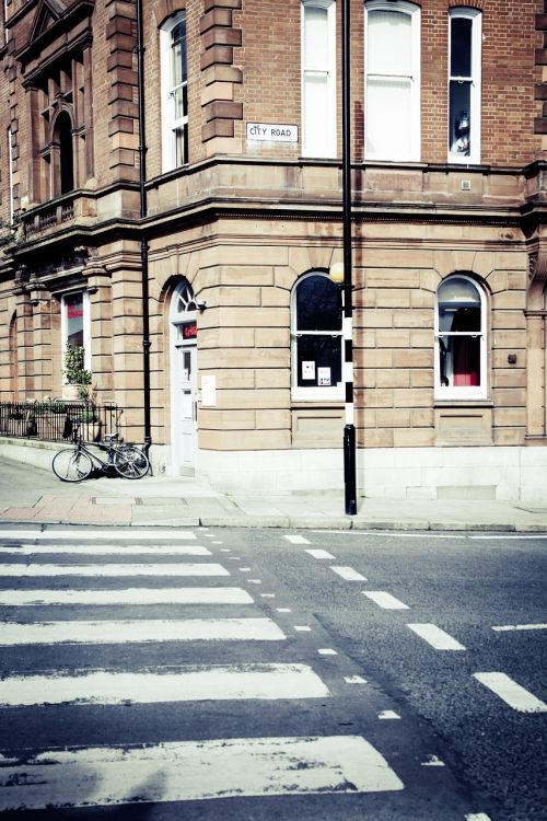 zebra crossing crossing road