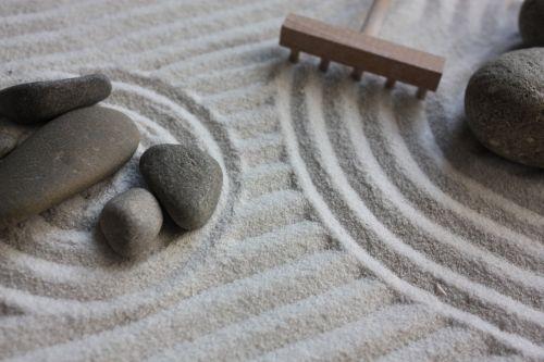 garden zen sand