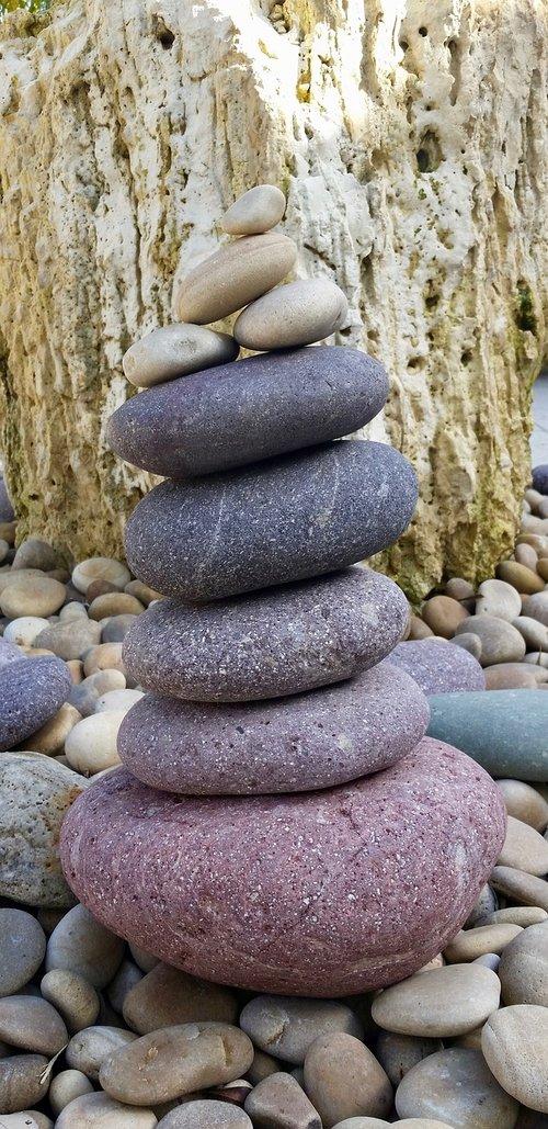 zen  stone  rock