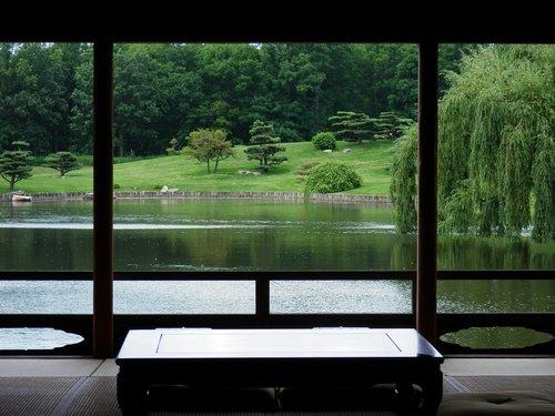 zen  garden  botanic garden