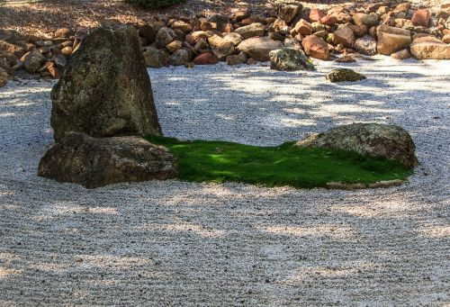 zen garden meditation insight